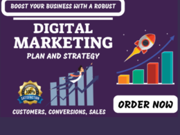 Provide You A Killer Marketing Plan For Guaranteed Results