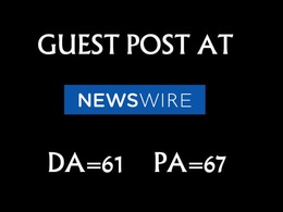 Publish Guest Post On Newswire.com