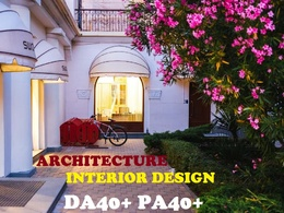 Publish a post on Architecture and Interior design DA40+ blog