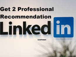 Give you recommendation from 2 professional on linkedin