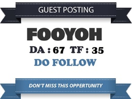 Publish on fooyoh.com da68  with dofollow