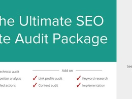 Full site technical audit & SEO Strategy: 120+ checks