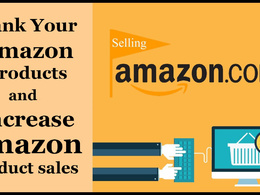 Rank your product on Amazon and increase your sales