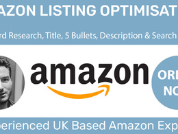 Optimise your Amazon listing with full keyword research