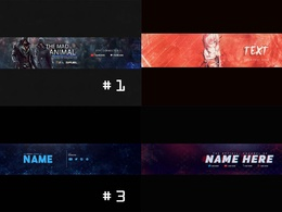 Make Your YouTube Banner Or Facebook Cover Or Twitter Header