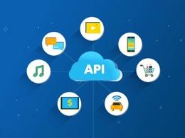 Design, Develop or Integrate 1 API for your app or website