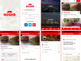 Developed food Ordering native Apps for Android and iPhone