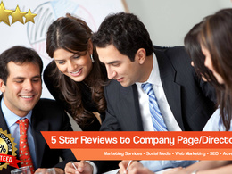 Provide 12 Company Page 5 Star Review Boost Your Ranking