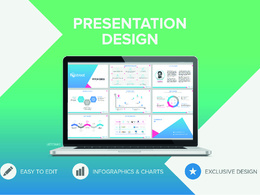 Design 10 slides editable Powerpoint presentation with revisions