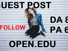 Guest Post On Open University - Open.edu Dofollow Link DA89 Blog