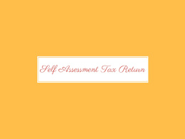 Submit your self assessment tax return