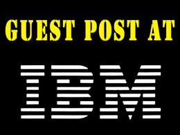 Publish Dofollow Guest Post At IBM