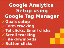 Google Analytics with Event Tracking using Google Tag Manager
