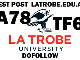 Write & post on Latrobe university latrobe.edu.au DA78 TF60