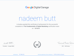 Do Google and Facebook Certifications On Your Behalf