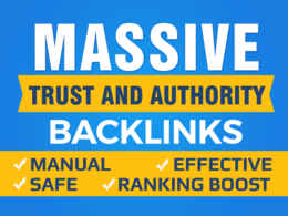 Top Up Your Google SEO with 20 Manual High Authority Backlinks