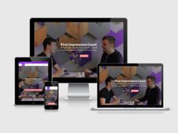 5 Page Modern WordPress Website