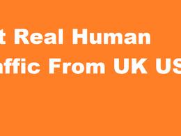 Manually Human 20K traffic to your website grow Google ranking