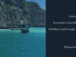 Travel writing & travel guest posting itravelnet.com DA58 TF31