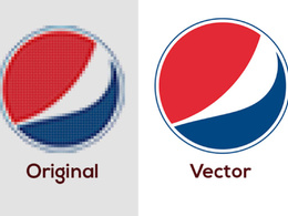 Manually Vectorise, Trace Your Logo to Vector In 24 Hours