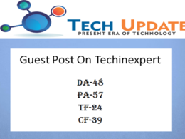 Guest Post on HQ Tech, Business Site Techinexpert DA45