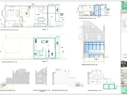 Planning Application drawings (extension / loft / alterations)