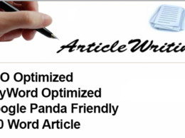 Write an optimized 900 words content about any topic