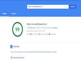 Make any web site speed optimization