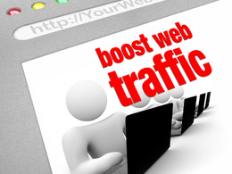Increase Your Web Traffic Get 15.k Real Visitors For 30 Days