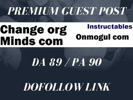 Guest post on MINDS COM, onmogul COM, Quora,Instructables Blog