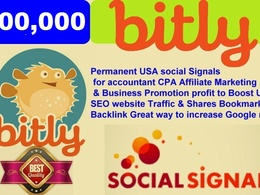 Permanent social Signals for accountant CPA Affiliate Marketing