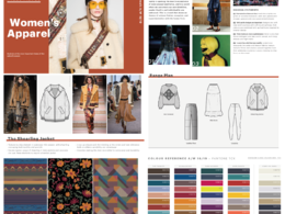 Key Trend Reports for womenswear/ Menswear & Childrenswear.