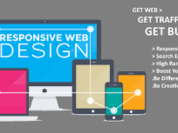 Design & develop responsive,fast, SEO friendly website in 3 days