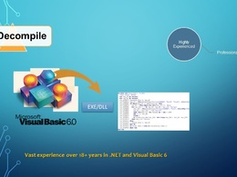 Decompile Visual Basic 6 EXE/DLL into Source code