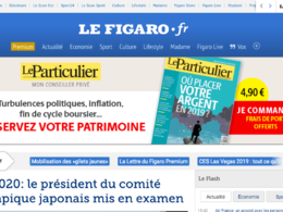 Publish a guest post on LeFigaro - Lefigaro.fr