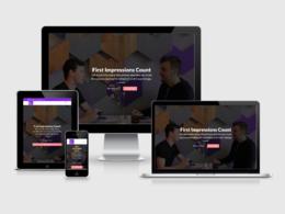 5 Page WordPress Website | Modern Design
