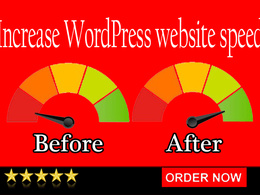 Increase website speed - I'll boost the speed of WordPress site