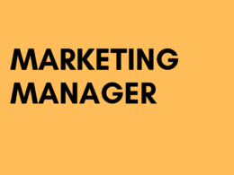 Be your marketing manager for 1 hour