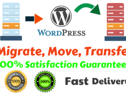 Move, Migrate Or Transfer Your Wordpress Site
