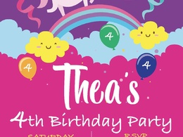 Design your childrens birthday invitations