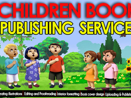 Publish Your Children Book With Illustration