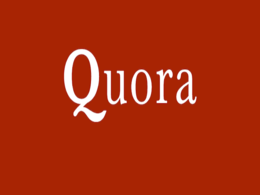 Write and publish an article on Quora