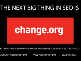 Write and post on change with A backlink