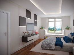 High quality & realistic interior 3D rendering