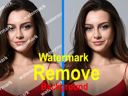 Remove watermark or edit enhance 20 images