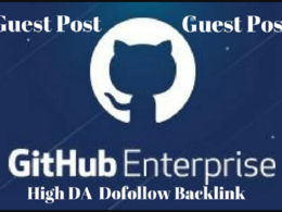Publish guest on high authority  Github Da 97
