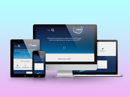 Design a home page or landing page for your business