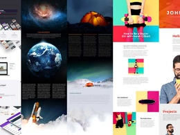 Design wordpress website by divi theme and divi build 5 pages