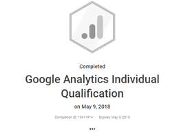 Give you an hour's one-on-one tutorial on Google Analytics