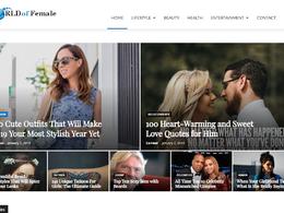 Guest post on Worldoffemale.com lifestyle website - DA 60